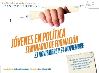 Seminario de Formación: Jóvenes en política